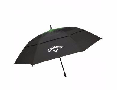 paraguas callaway double canopy negro y verde
