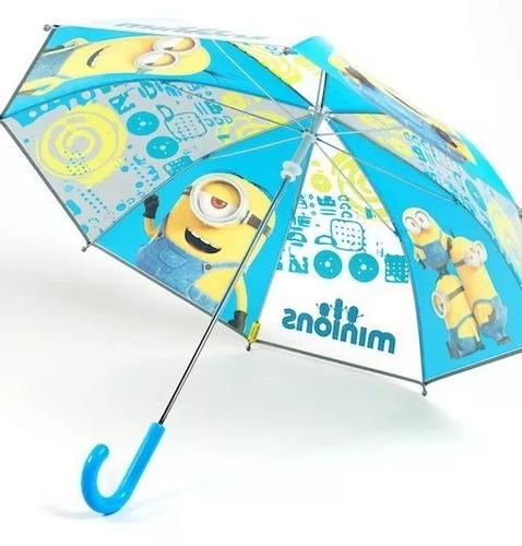 paraguas de, minions-producto original, licencia oficial.