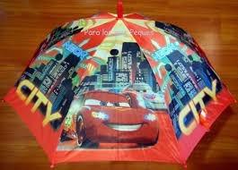 paraguas de niño y niña ben10 spiderman toy story