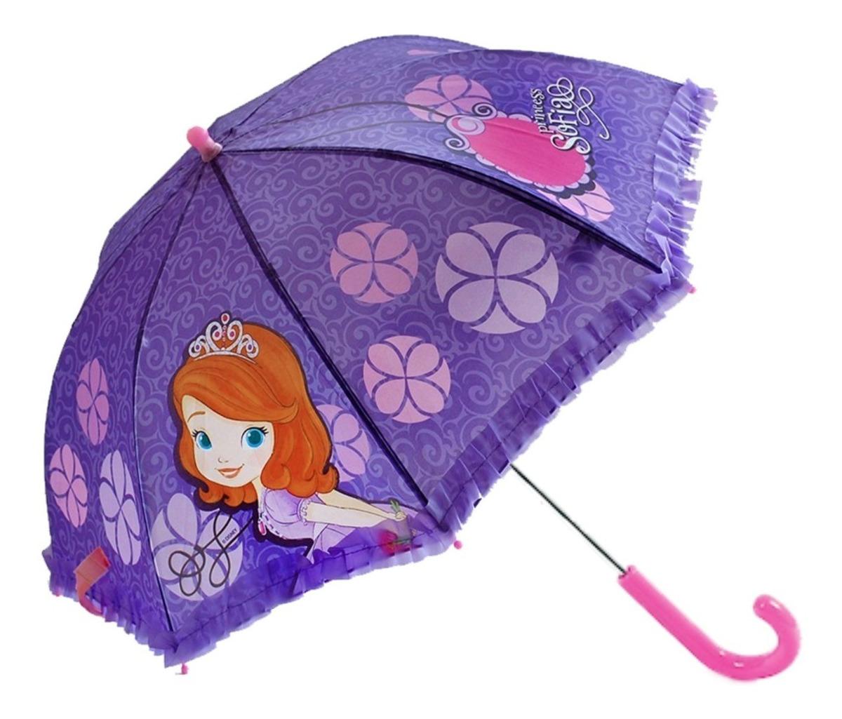 bonita y colorida muy genial talla 7 Paraguas Disney Princesita Sofia Original Mundo Manias
