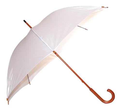 paraguas ejecutivo mango de madera varios colores