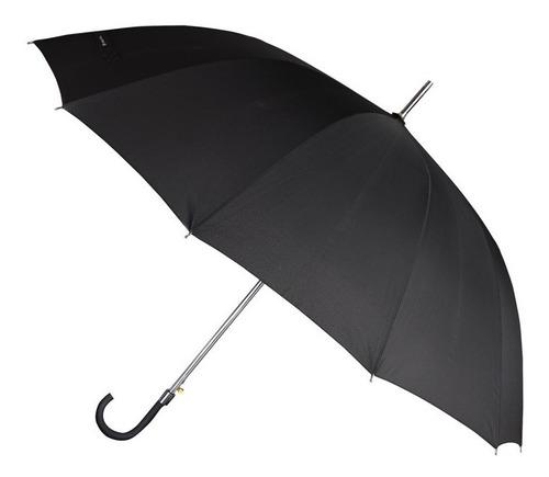 paraguas largo mujer hombre lluvia paragua reforzado
