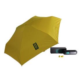 Paraguas Mini Corto Estuche Capsula Funda Cartera Leblu P005