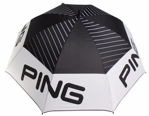 paraguas ping tour doble canopy 68