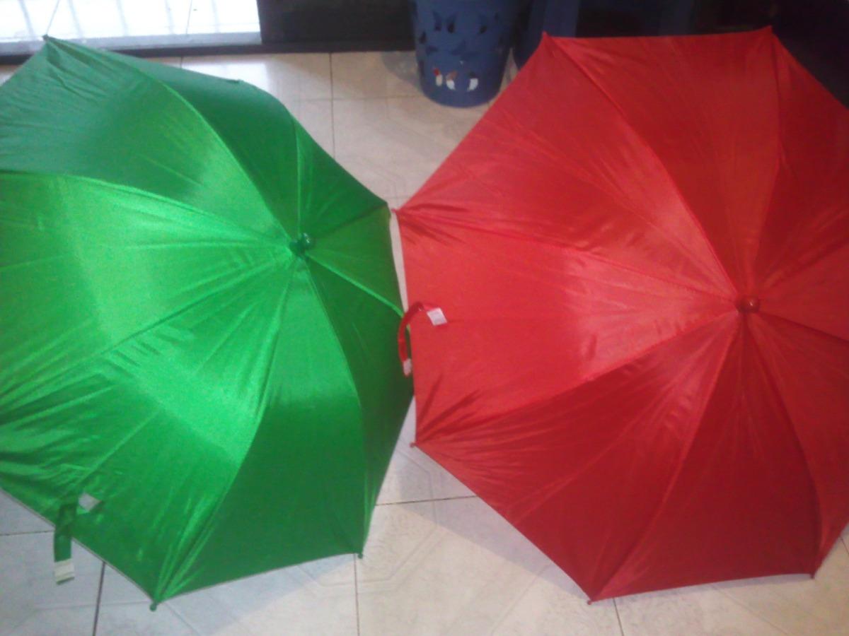 Paraguas sombrillas de tela infantil blanco verde y rojo - Tela de paraguas ...