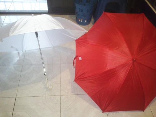 paraguas/ sombrillas  infantil blanco, verde y rojo