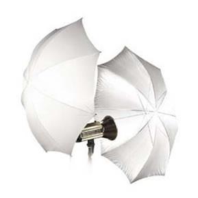 paraguas traslucido 110cm difusor iluminación estudio