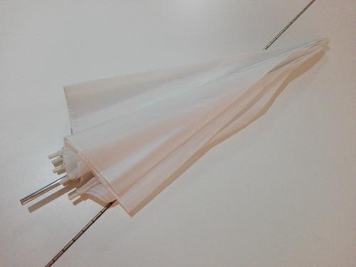 paraguas traslucido fotografía