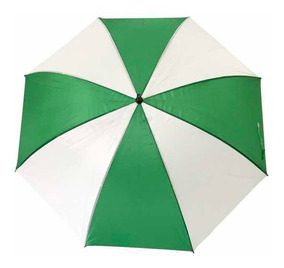 más cerca de estilo clásico de 2019 calzado Paraguas Verde Y Blanco Merchandising- Importador Impo.stock