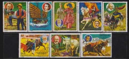paraguay 1977 libros y trajes tipicos serie completa p. 2