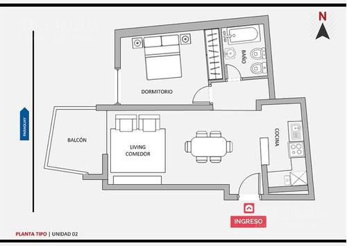 paraguay 2200 - venta departamento un dormitorio