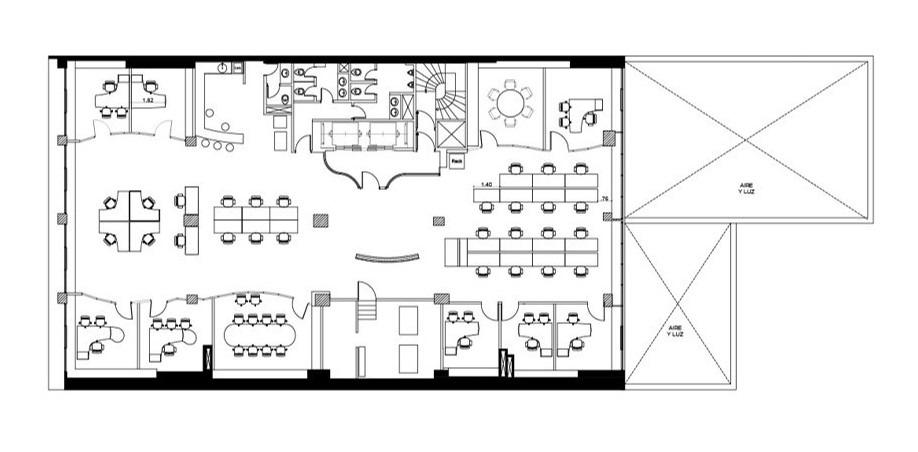 paraguay 733 - caba, alquiler pisos 6°, 7° y 8°
