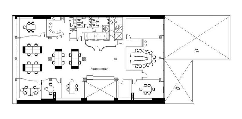 paraguay 733 - caba, alquiler pisos 8° y 9°