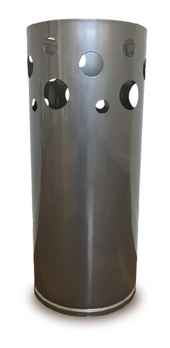 paraguero moderno grande redondo metalico decoracion pc
