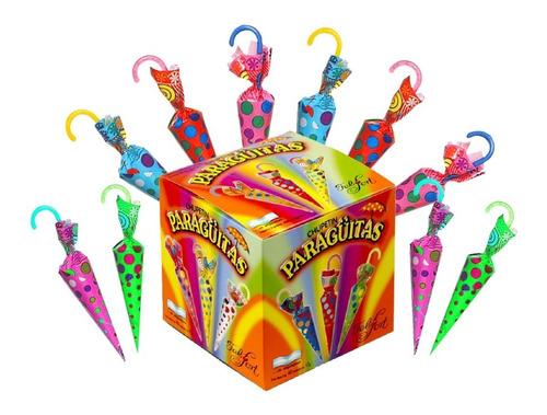 paraguitas felfort x 40 unidades - lollipop