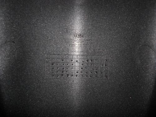 paralama diant lead 110 cinza fosco metálico 2012 orig honda