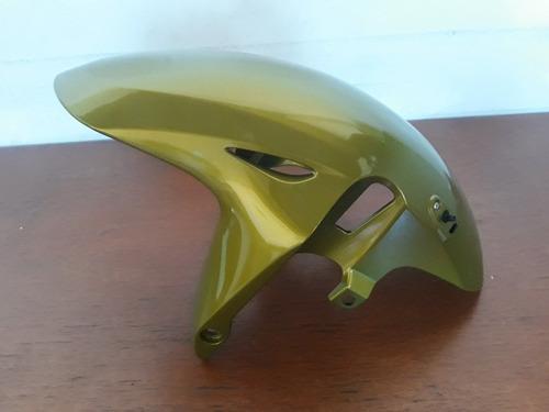 paralama dianteiro hornet 2012 verde
