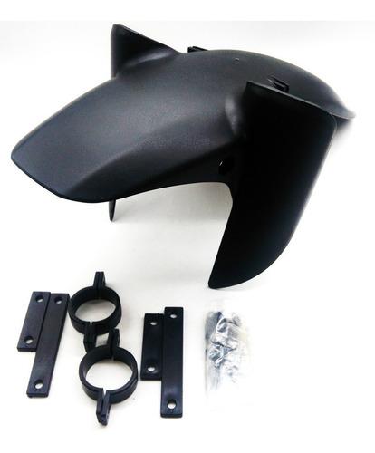 paralama dianteiro inferior ( apara barro / lameira ) bros 125 / bros 150 / bros 160 motos com freio a tambor