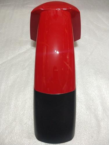 paralama dianteiro sundown max 125 vermelho novo e original0