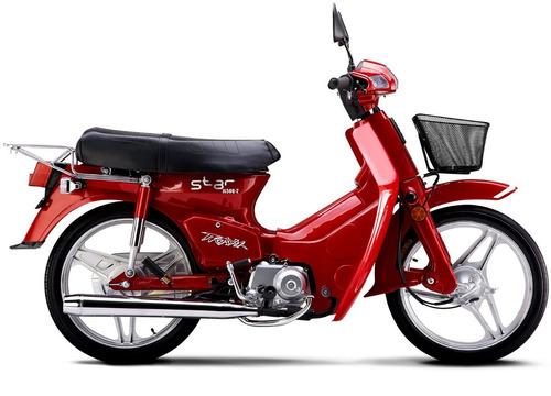 paralama dianteiro traxx star jl50q-2 original vermelha