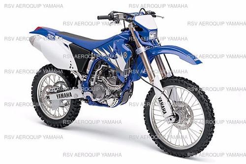 paralama dianteiro wr 250f azul original yamaha