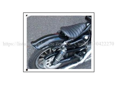 paralama traseiro moto custom sportster chopper bobber cafe