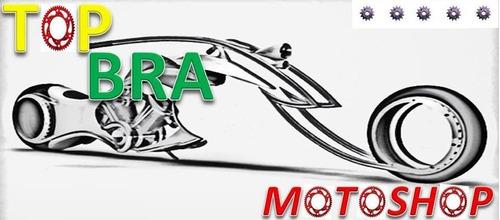 paralama trazeiro fan125 2009 - 2012  preto tk