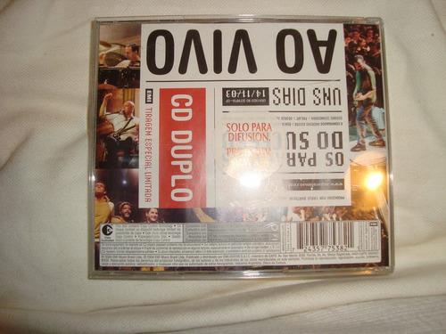 paralamas do suceso ao vivo audio 2 cd en caballito*