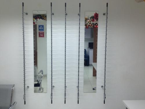 parales aereos exhibidores de lentes (20 puestos)