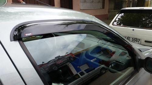 paralluvias o gotero renault clio hatch/sedan 4puertas