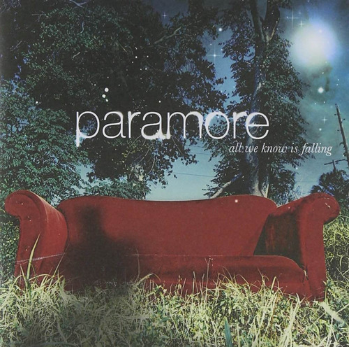 paramore all we know is falling cd nuevo