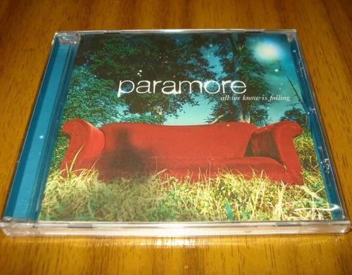 paramore cd all we know is falling sellado álbum debut 2005