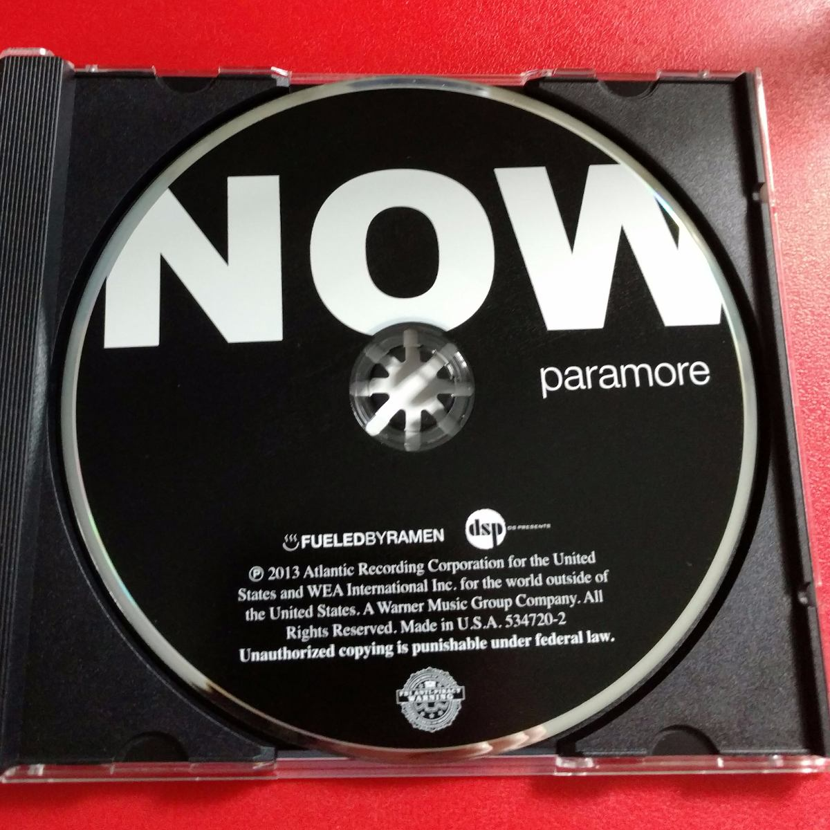 cd now paramore
