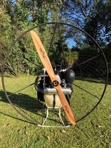 paramotor miniplane top80. menos de 10 horas uso. parapente