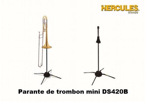 parante de trombon mini ds420b atril hercules