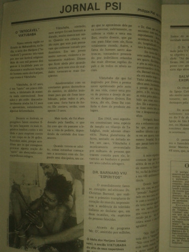 parapsicologia - efeito kirlian em seres vivos ( revista )
