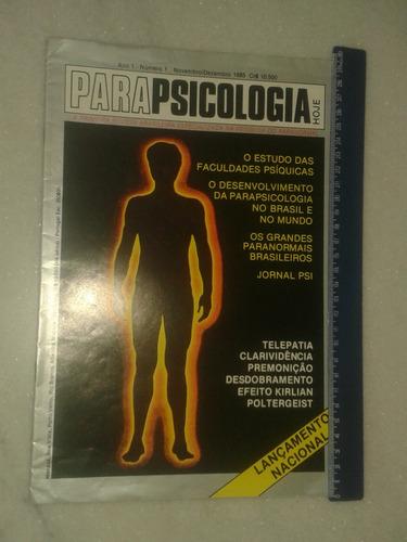 parapsicologia - poltergeist - efeito kirlian ( revista )
