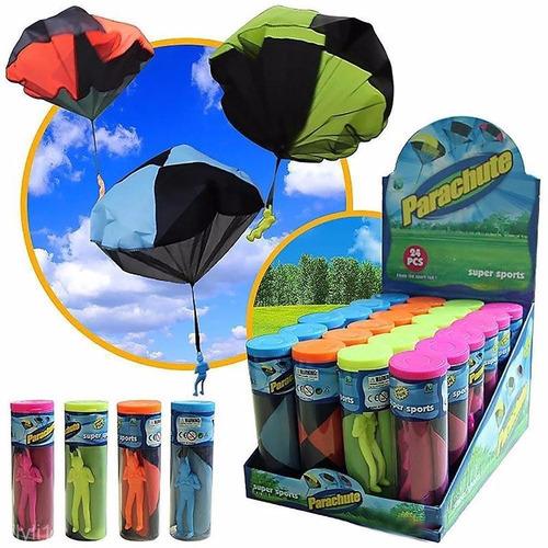 paraquedas paraquedista parachute soldado - brinquedo