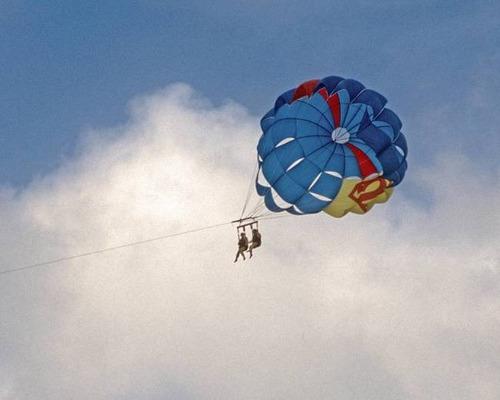 parasail duplo paraquedas puxado p lanha