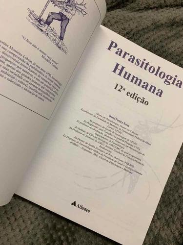 parasitologia humana - david pereira neves - 12ª edição