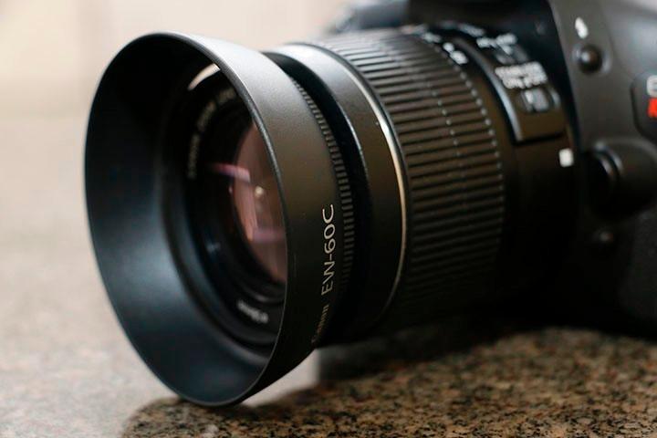 989f698149e8c Parasol Canon Ew-60c Para Lentes 18-55mm - R  19