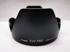Reemplazo EW-78D Parasol para Canon EF 28-200 mm f3.5-5.6 EF28-200mm f3.5-5.6