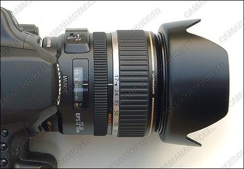 parasol ew-73b lente canon 17-85mm 18-135mm generico