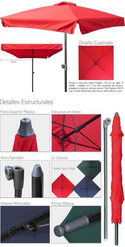 parasol marca futai modelo q125