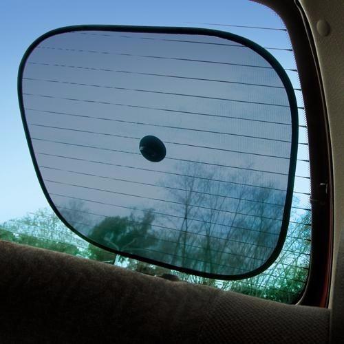 parasol para el auto con sopapa 2 unidades love