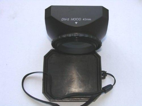 parasol para filmadora 58mm 52mm 46mm 43mm 37mm 30mm 25mm