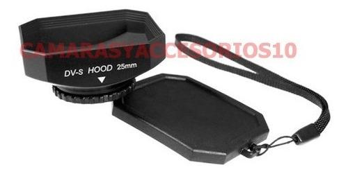 parasol rectangular 25mm videocamara camcorder