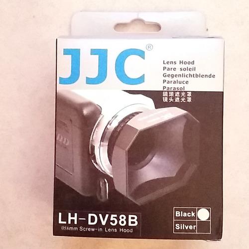 parasol rectangular 58mm jjc videocamara camcorder