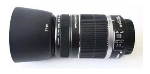 parassol encaixe et 60 lentes canon 58mm 18-55 ou 75-300