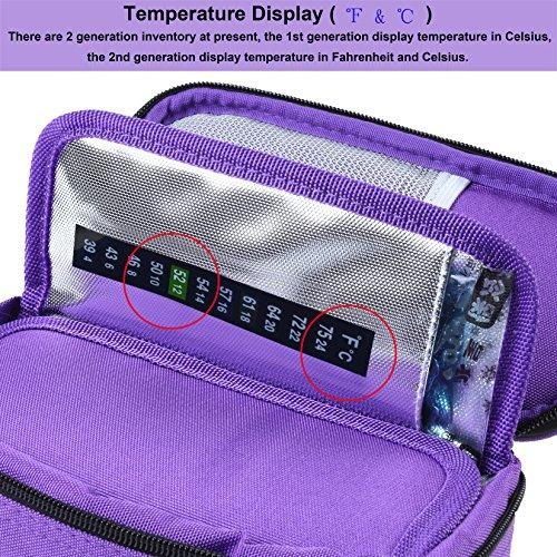 parateck oxford tela viajes medicos refrigerador bolsa caso